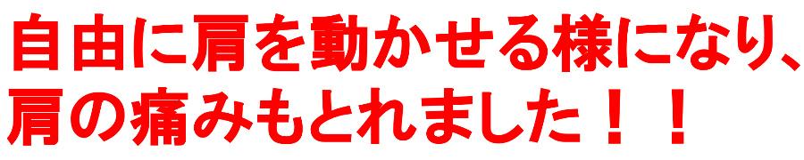 横須賀整体-四十肩